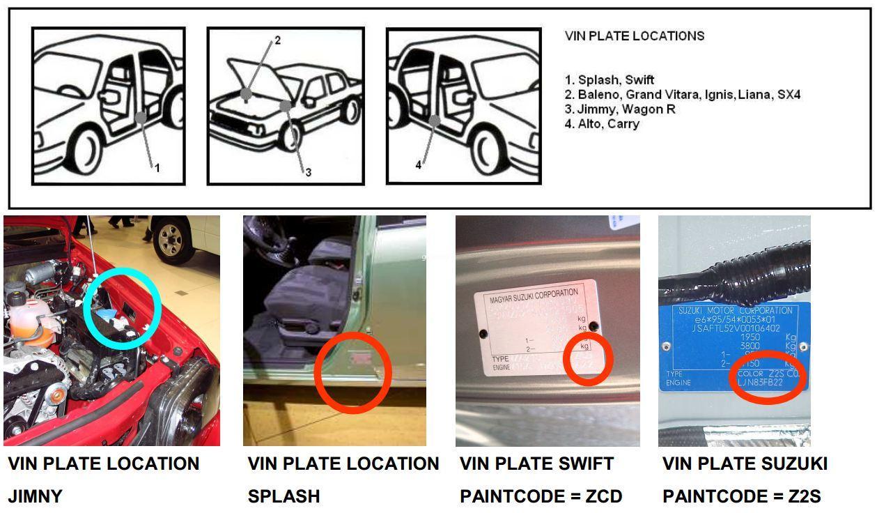 de wwwgopeinturecom  Localiser le code couleur de votre véhicule[R