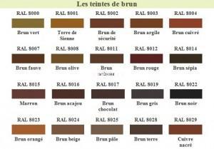 RAL Brun